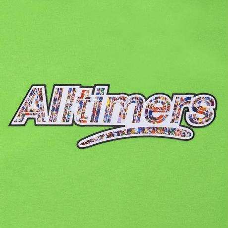 ALLTIMERS CROWD LOGO HOODY KIWI