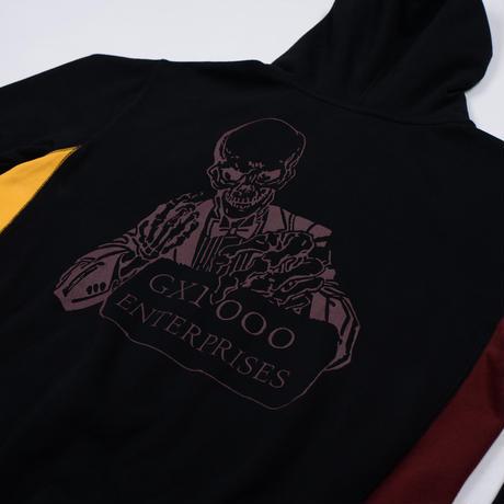 GX1000 ENTERPRISES ZIP HOODIE BLACK