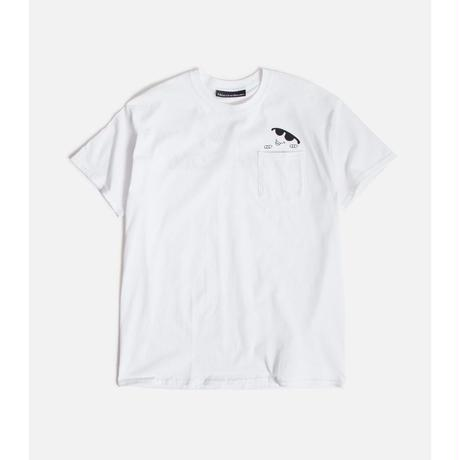CALL ME 917 Boogie Pocket T-Shirt WHITE
