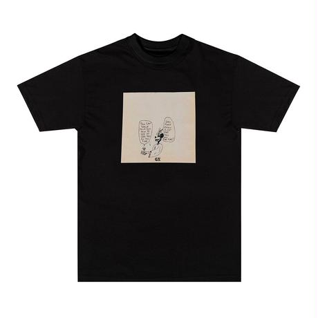 GX1000 ALL THE TIME TEE BLACK
