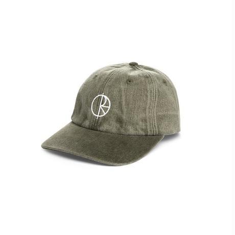 POLAR SKATE CO. DENIM CAP ARMY GREEN