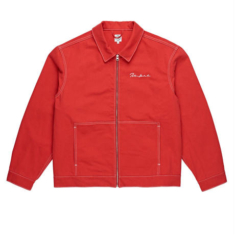 POLAR SKATE CO. 94DENIM JKT RED