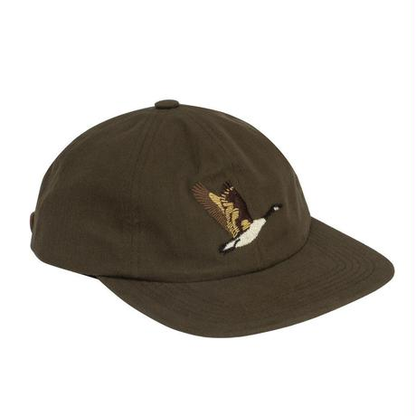 GRAND COLLECTION GOOSE SOUVENIR CAP OLIVE