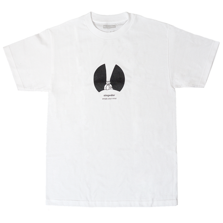 STINGWATER Les Empty Minds T shirt white