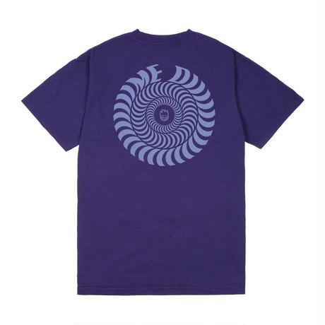 DIME × SPITFIRE SWIRL T-SHIRT Purple