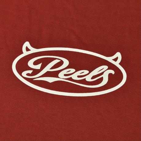 PEELS DEMON LOGO TEE RED