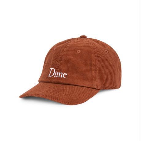 DIME CLASSIC CORDUROY CAP BURNT ORANGE