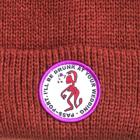 "PASS~PORT ""D.A.Y.W"" BEANIE DIRT"