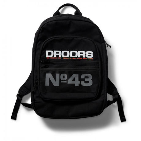DROORS SERENGETI BACKPACK - BLACK