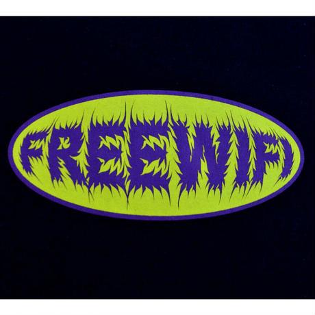 FREE WIFI 90'S LOGO TEE BLACK