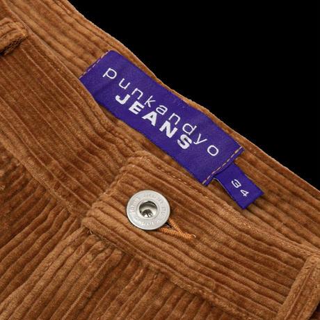 PUNKANDYO CORD SHORTS BROWN