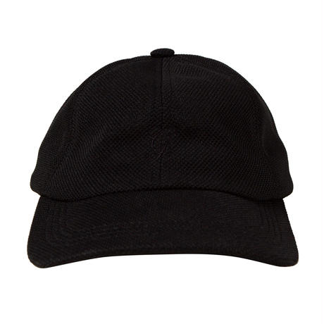 GRAND COLLECTION G SCRIPT KNIT CAP BLACK