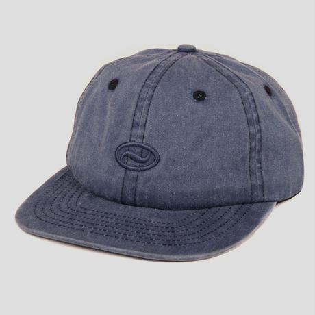 PASS~PORT OVALY 6 PANEL CAP NAVY