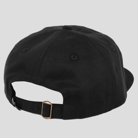 PASS~PORT OVALY 6 PANEL CAP BLACK