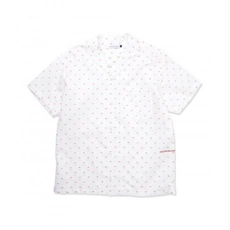 POP TRADING COMPANY HUGO SHIRT WHITE