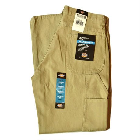 Dickies Relaxed Fit Straight Leg Carpenter Duck Jean - RDS