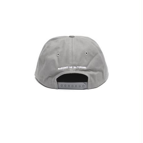 RASSVET LOGO CAP GREY