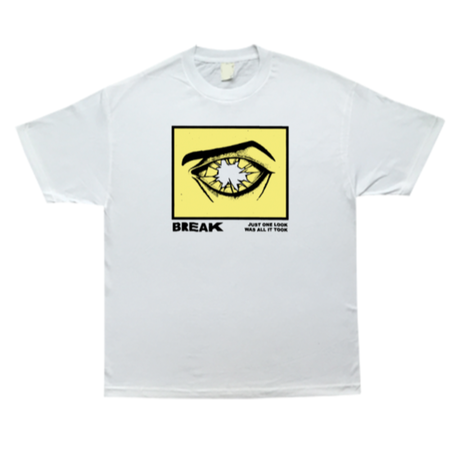 COME SUNDOWN BREAK S/S TEE  WHITE