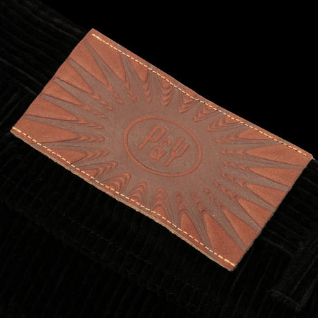 PUNKANDYO CORD SHORTS BLACK