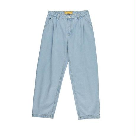 POLAR SKATE CO. DENIM CHINOS BLEACH BLUE