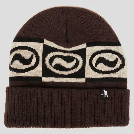 PASS~PORT OVALY KNIT BEANIE BROWN