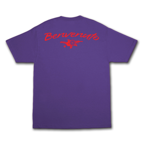 COME SUNDOWN CICERO'S S/S PURPLE