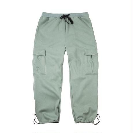 DIME CARGO SWEATPANTS Green