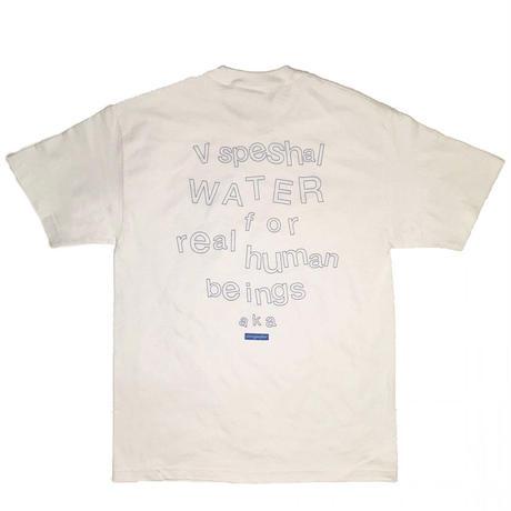 STING WATER V speshal water t shirt white