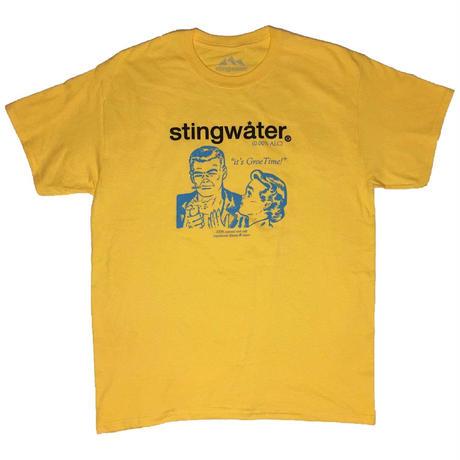 STING WATER 0.00% alc t shirt yellow