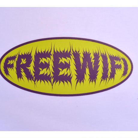 FREE WIFI 90'S LOGO TEE WHITE