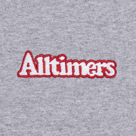 ALLTIMERS BROADWAY EMBROIDERED TEE HEATHER GREY
