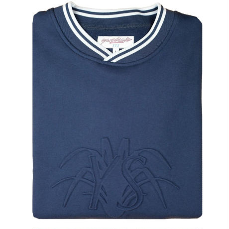 YARD SALE Stone Blue YS Embossed Sweatshirt
