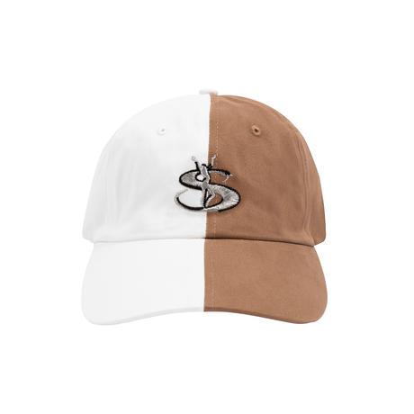 YARDSALE SPLIT CAP BROWN/BEIGE