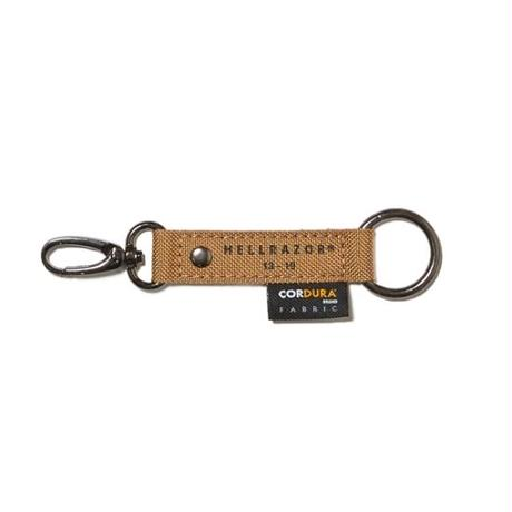 HELLRAZOR Under Ground Forces Key Chain - Coyote