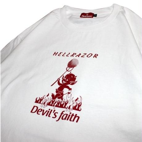 Hellrazor Devils Faith Shirt - White