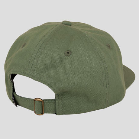 PASS~PORT QUILL PATCH 6 PANEL CAP SAGE GREEN