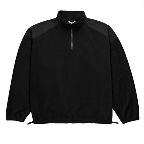 POLAR SKATE CO. LIGHT WEIGHT PULLOVER FLEECE Black