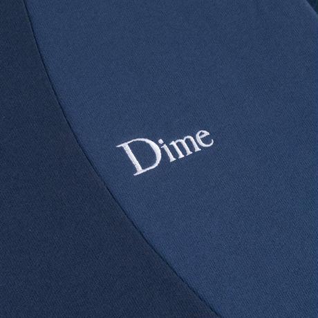 DIME WAVY 3-TONE CREWNECK BLUE