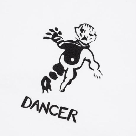 Dancer Lie Logo Tee White