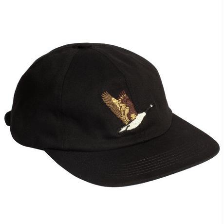 GRAND COLLECTION GOOSE SOUVENIR CAP BLACK