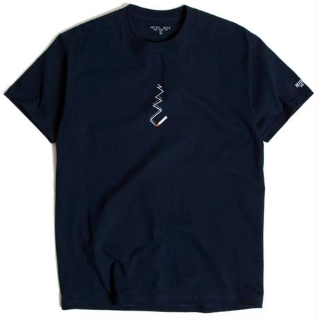 HOTEL BLUE SMOKE TEE NAVY