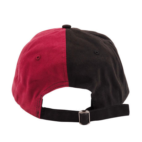 YARDSALE SPLIT CAP BLACK/RED