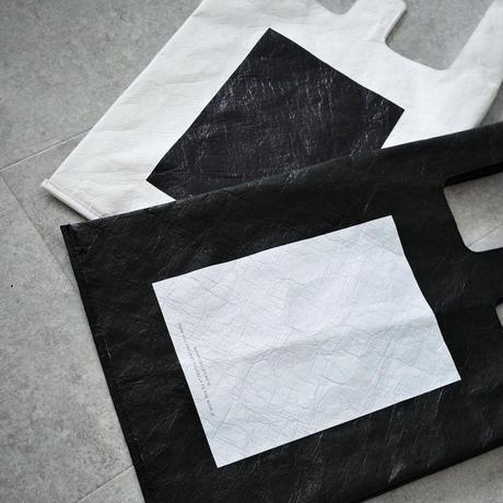 Tyvek MarcheBag  (white・black)