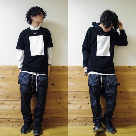 PRY T-shirt  (white・black)