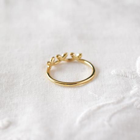 《Crown plus》K18YG / Diamond