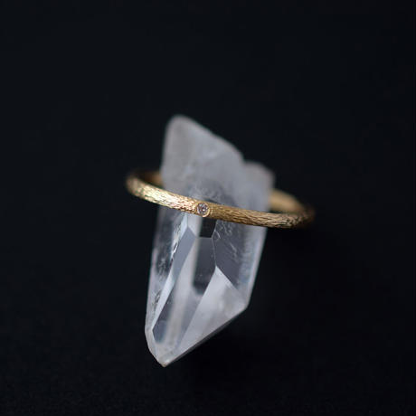 《Sazanami》K18YG / Diamond / 1.3mm / #13