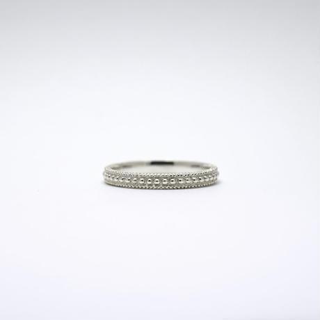 《Pointillé Ⅲ》Silver925 / 2.6mm