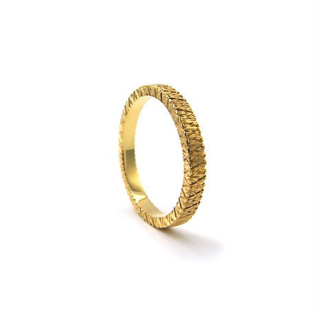 《Giorni Filo(ジョルニ》Marriage Ring / Square / K18YG / 2.5mm / #5 - #13