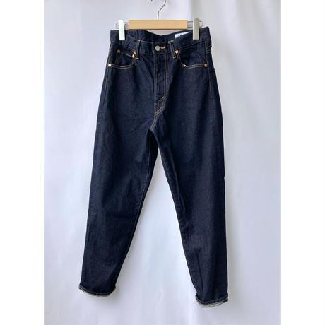 hight waist tapered denim pants