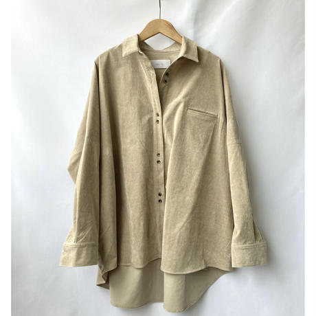 corduroy over shirt